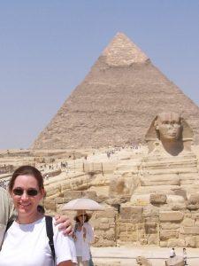 Cheryl in Egypt
