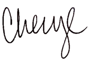 Cheryl's signature