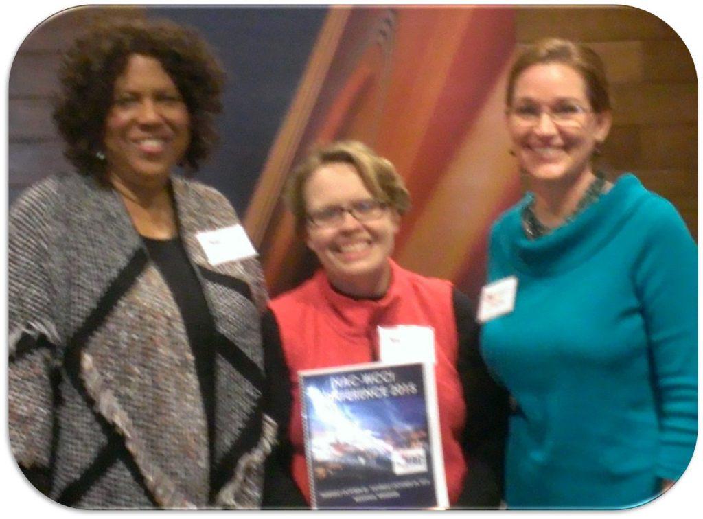 Drs. Saundra Sparks, Dawn Wright, & Cheryl Pence